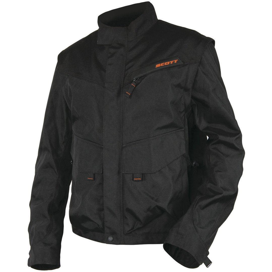 SCOTT Enduro-Jacke Adventure schwarz-orange
