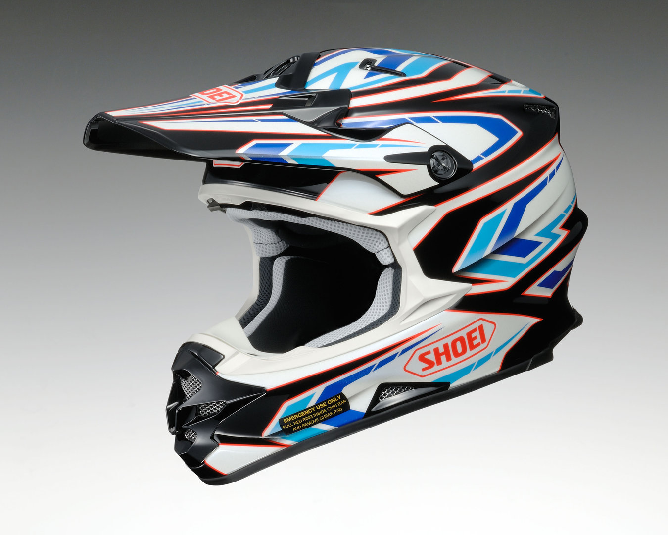 Shoei Helm VFX-W Block-Pass TC-2