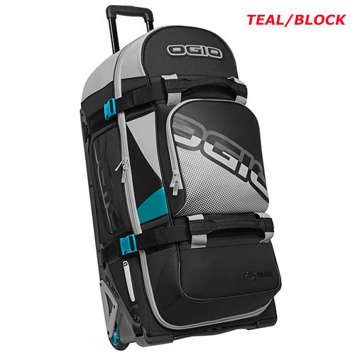 OGIO Wheeled Gear Bag RIG 9800 TEAL-BLOCK - 123 l