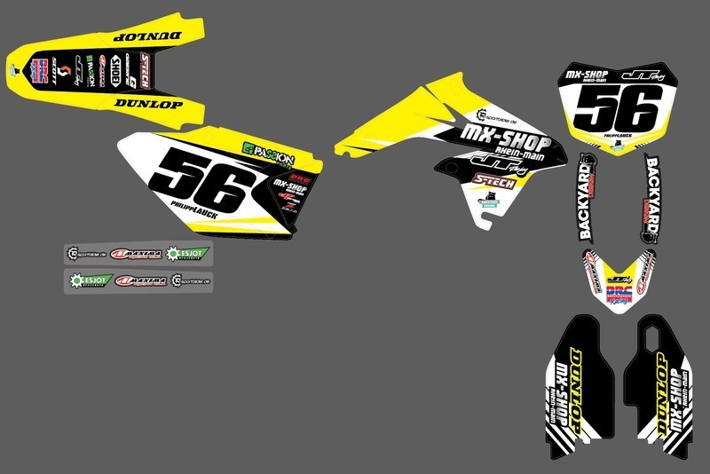 MX-Shop Team-Dekor Kit 2015/16 Suzuki