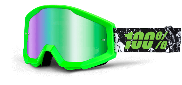 100% Brille STRATA Crafty Lime