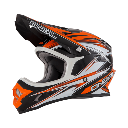 O´Neal 3er Kids Helm 2016 HURRICANE Orange