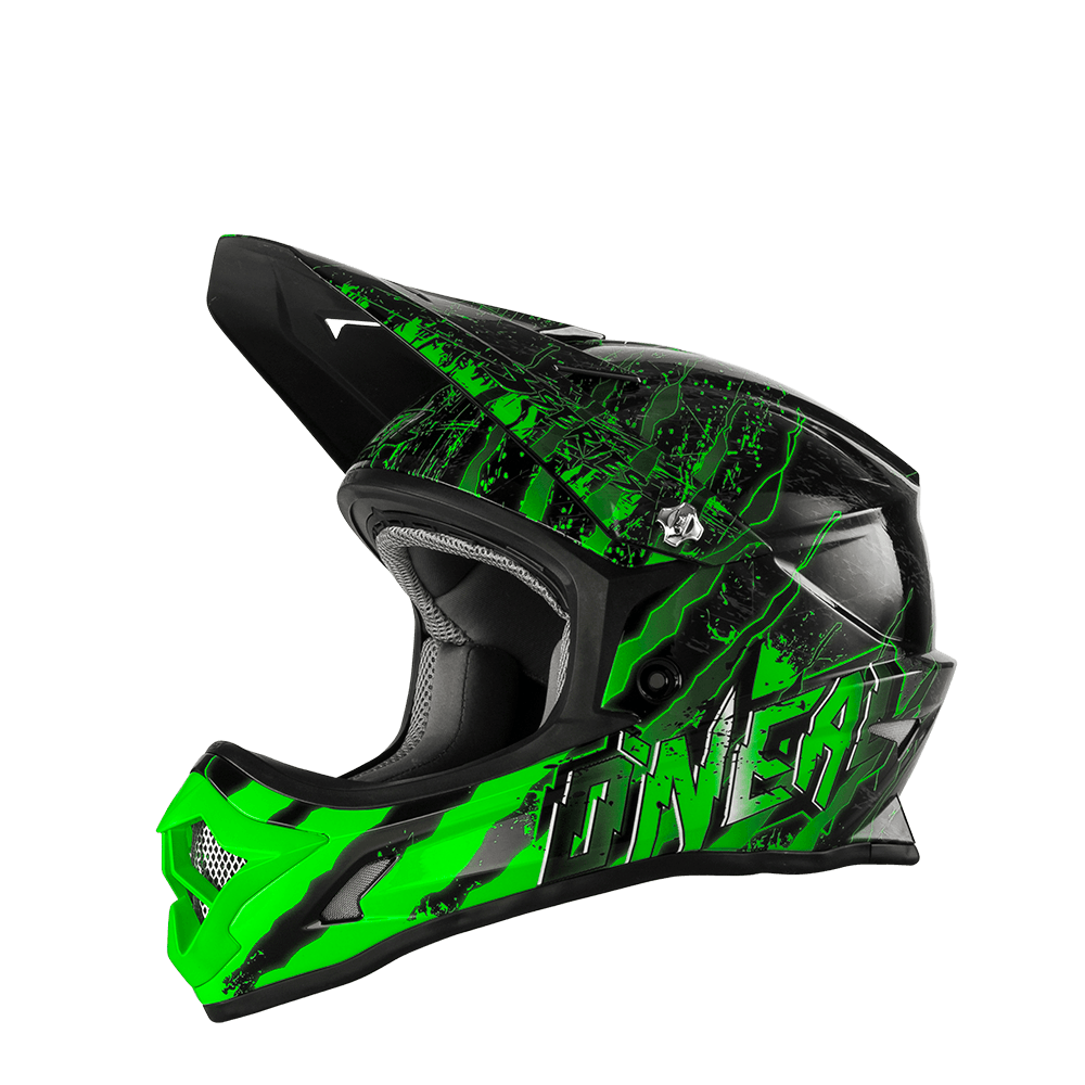O´Neal 3er Kids Helm 2016 MERCURY Black/Green