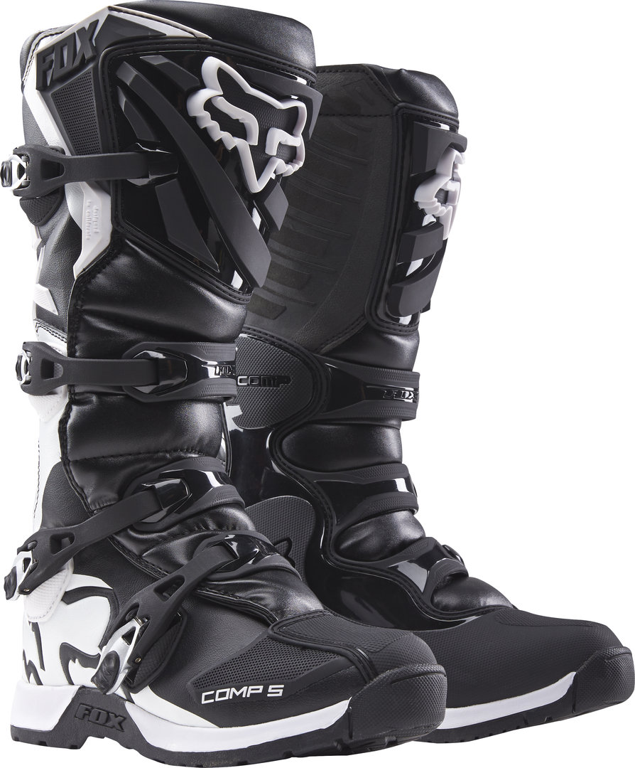 FOX MX Kinder-Stiefel Comp 5 Youth Schwarz