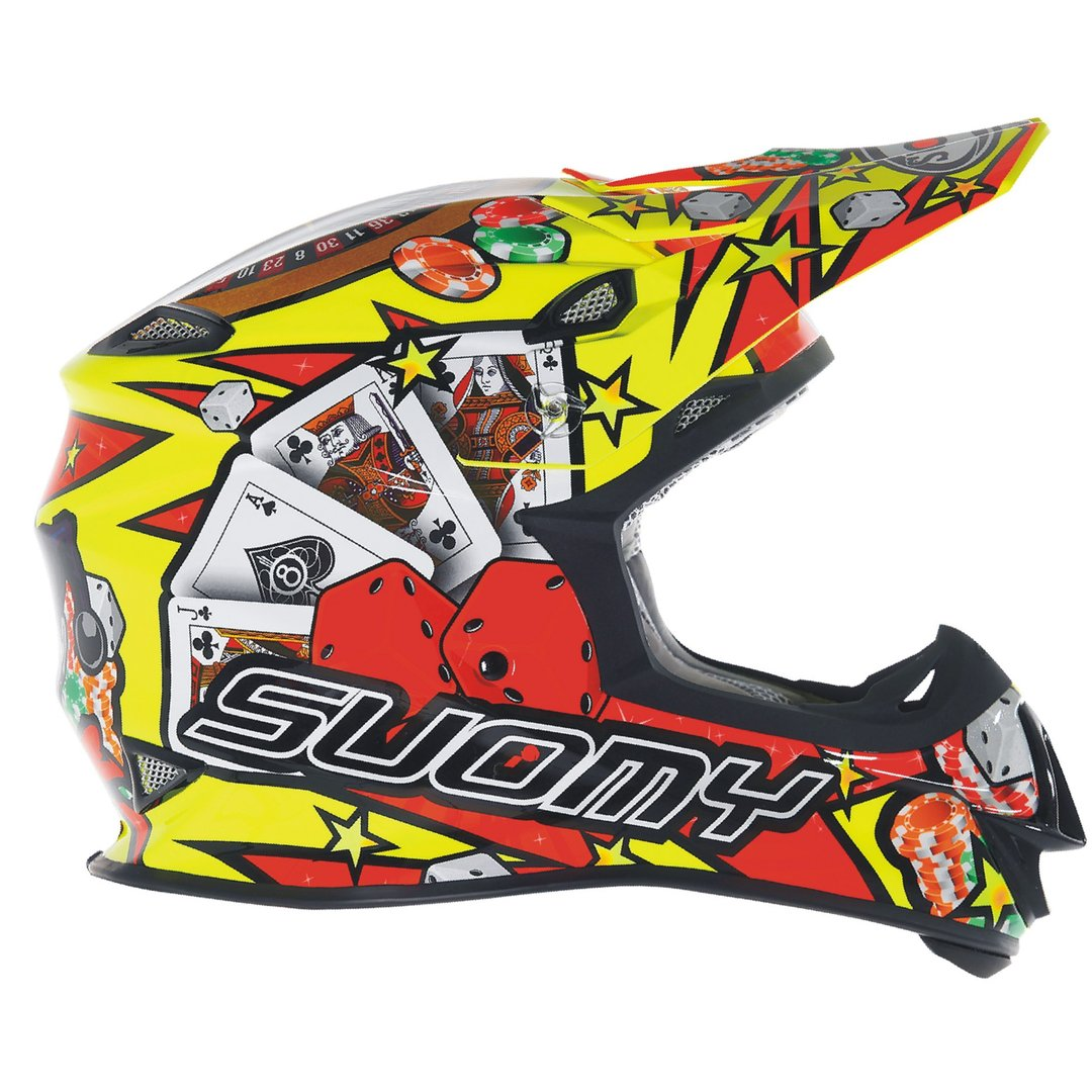 SUOMY MX Helm Mr. Jump Jackpot Gelb