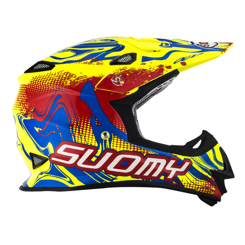 SUOMY MX Helm Mr. Jump Graffiti Rot-Gelb