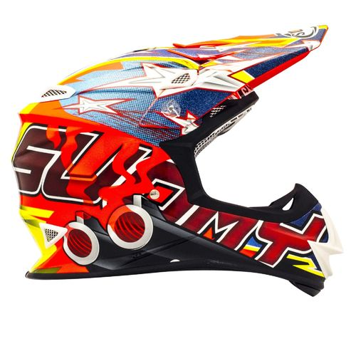 SUOMY MX Helm Mr. Jump Shots Orange