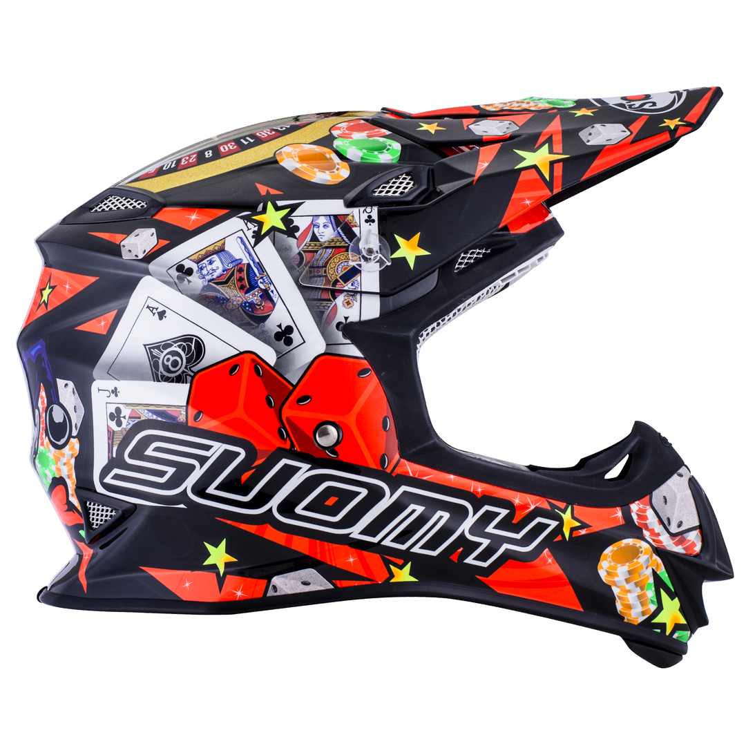 SUOMY MX Helm Mr. Jump Jackpot Schwarz
