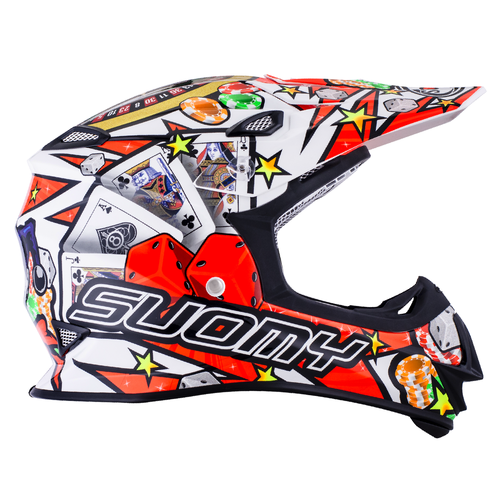SUOMY MX Helm Mr. Jump Jackpot Weiß