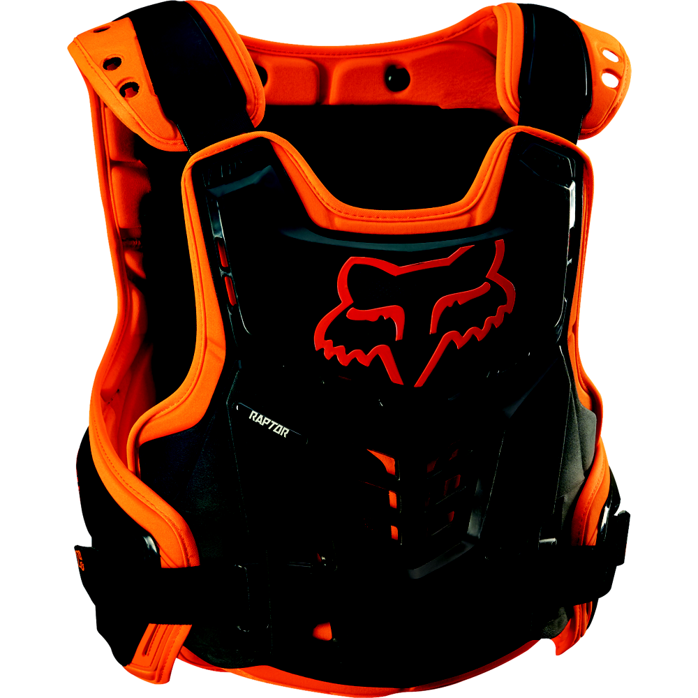 FOX Brustpanzer Raptor Proframe Youth orange