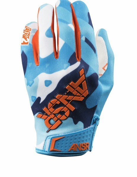 ANSWER Handschuhe LE Camo-Blue