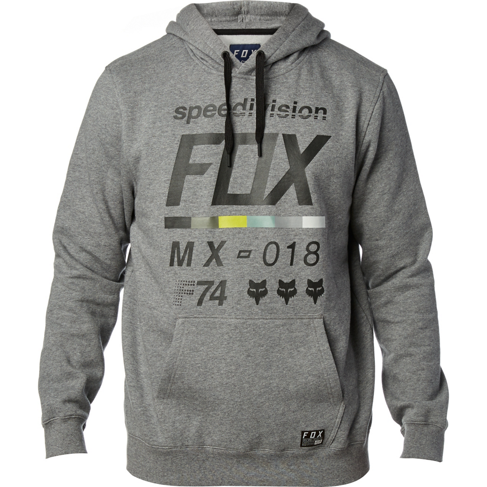 FOX District 2 Pullover Fleece Heather Graphite