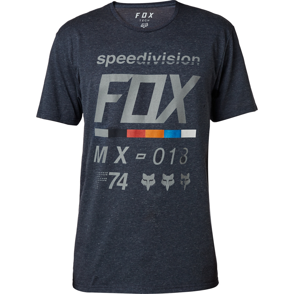 FOX Draftr Tech T-Shirt HTR MDNT