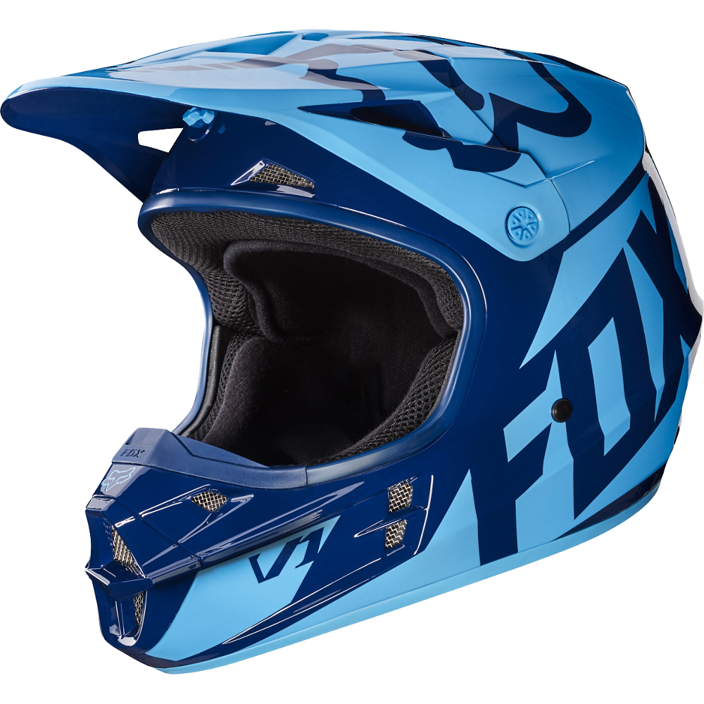 FOX Helm V1 RACE Navy