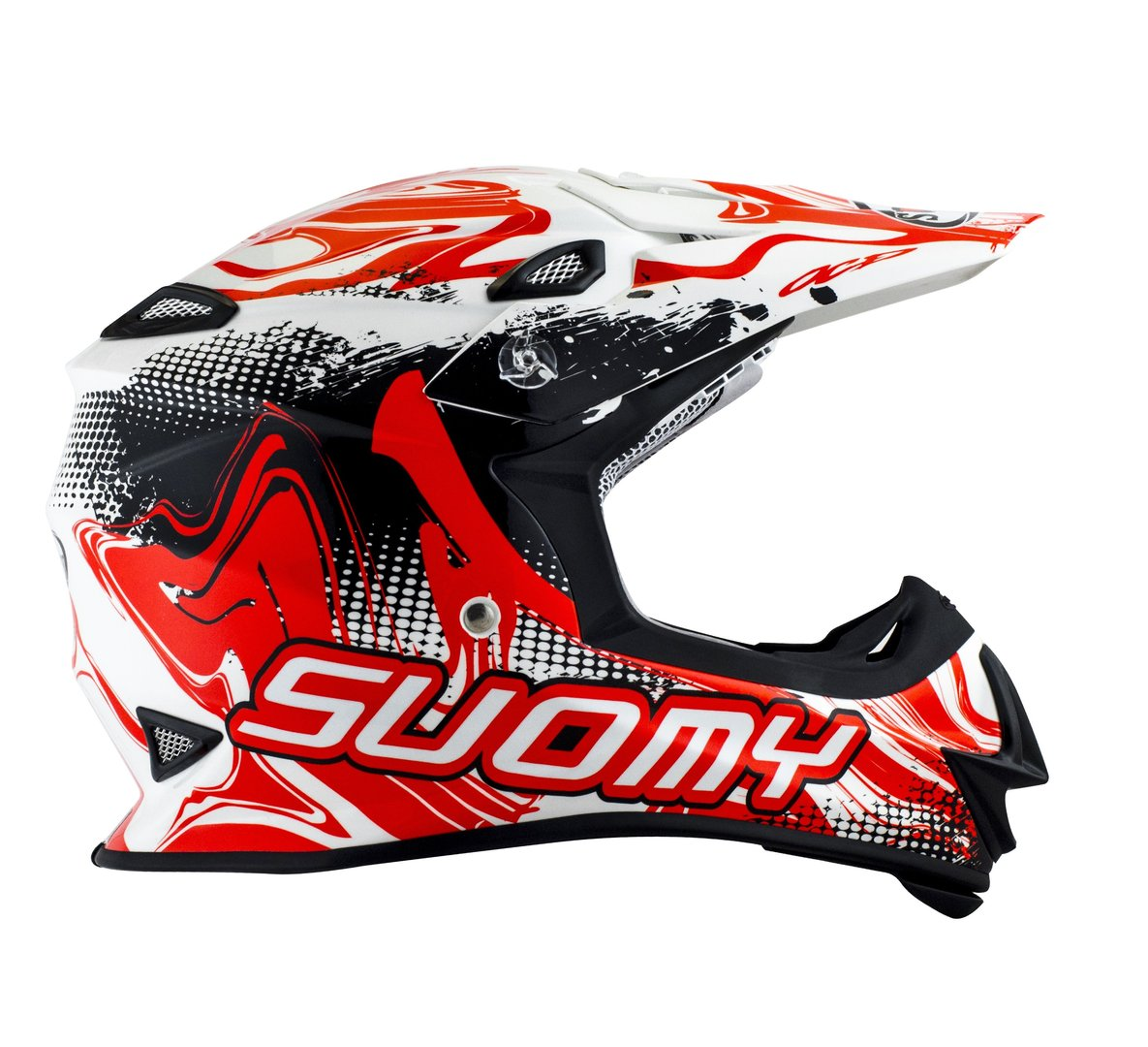 SUOMY MX Helm Mr. Jump Graffiti weiß-orange