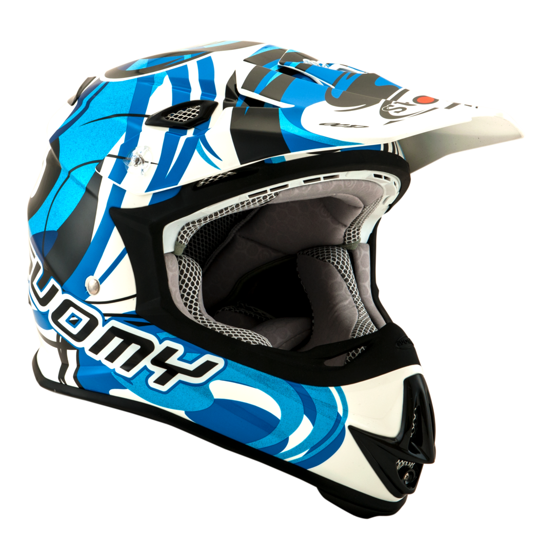 SUOMY MX Helm Mr. Jump Vortex blau