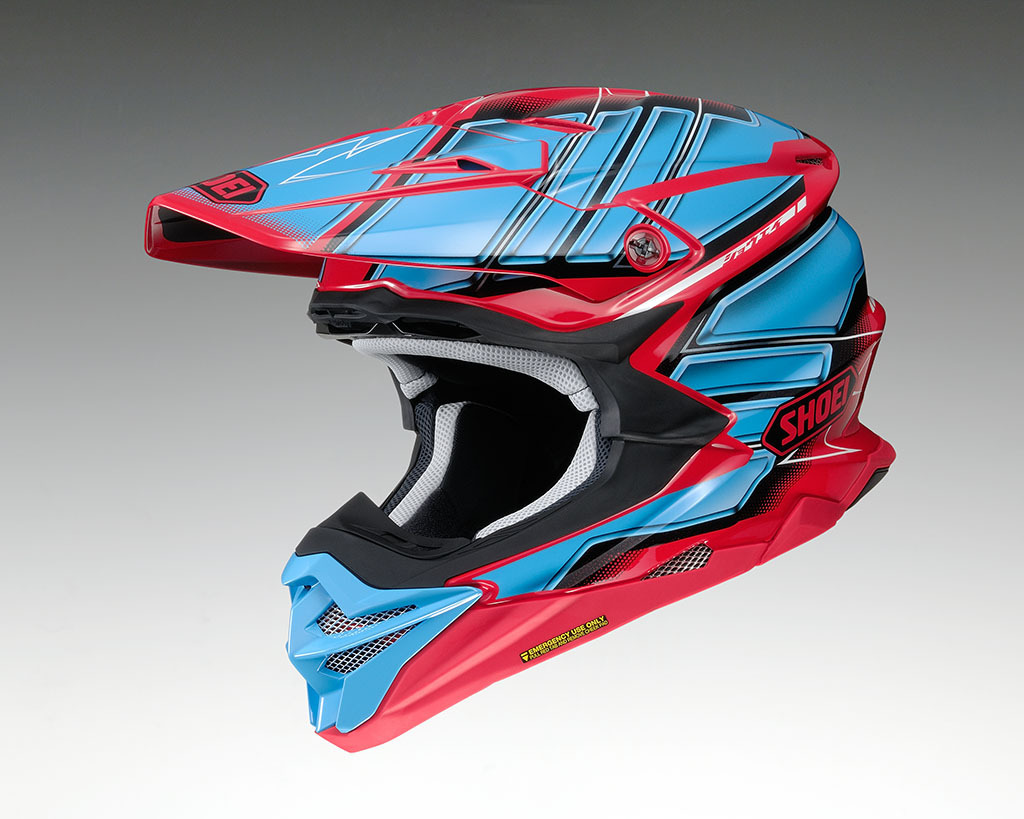 SHOEI Helm VFX-WR GLAIVE TC-1