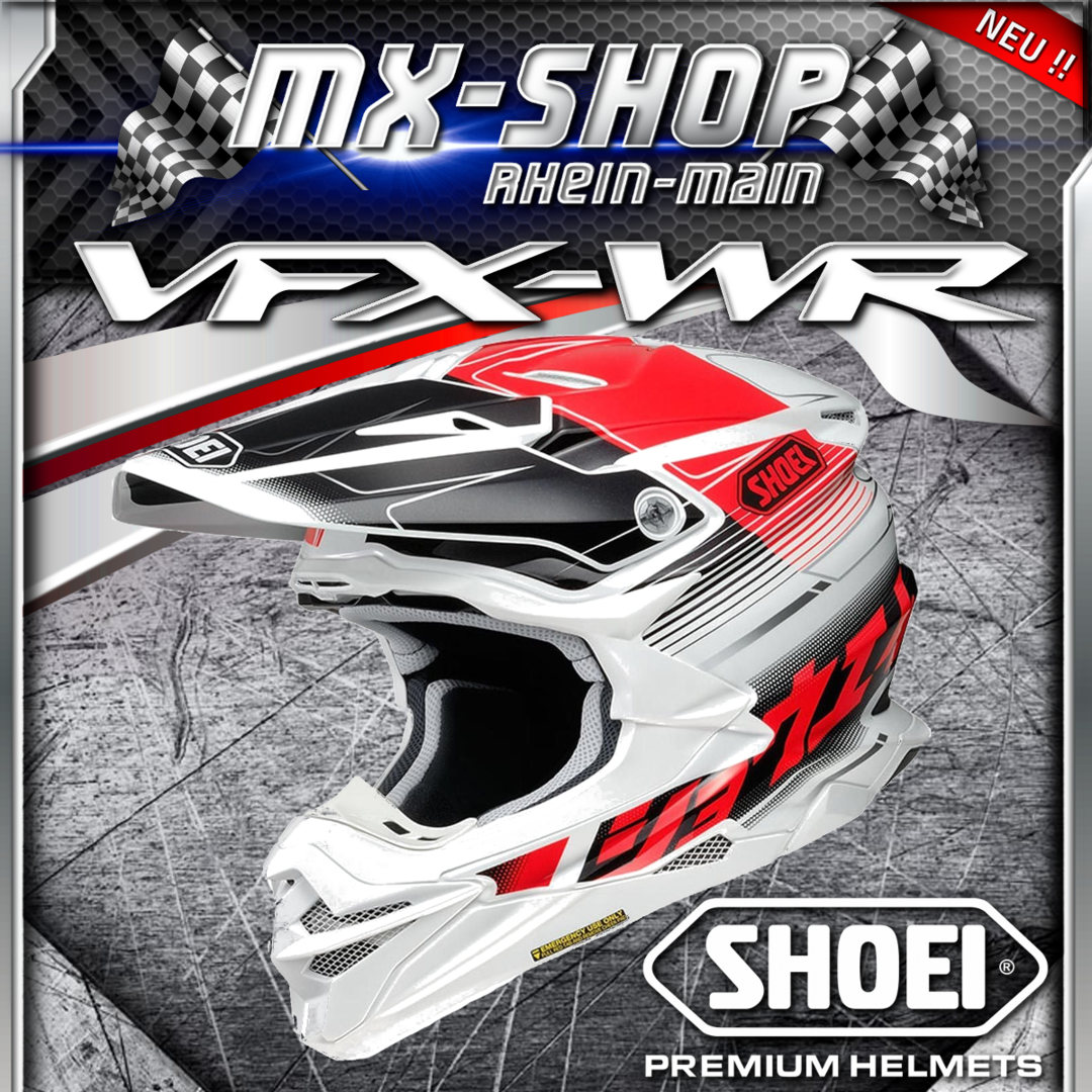 SHOEI Helm VFX-WR ZINGER TC-1