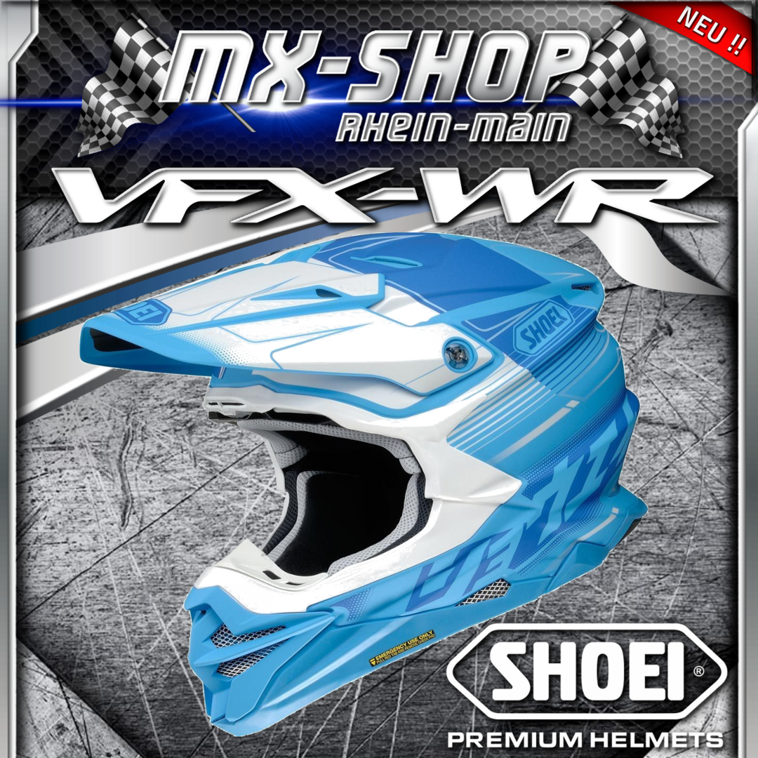SHOEI Helm VFX-WR ZINGER TC-2