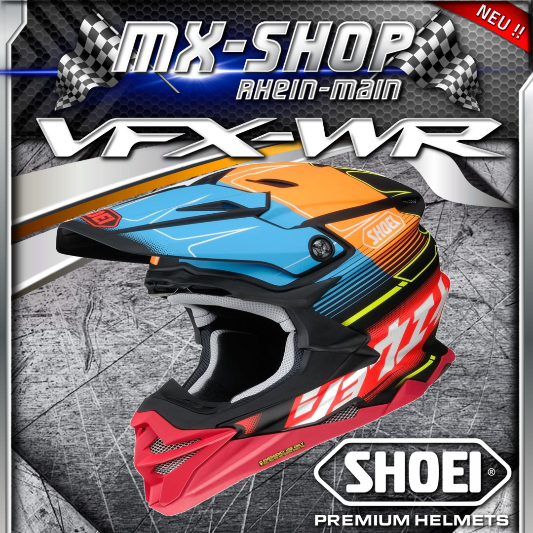 SHOEI Helm VFX-WR ZINGER TC-10