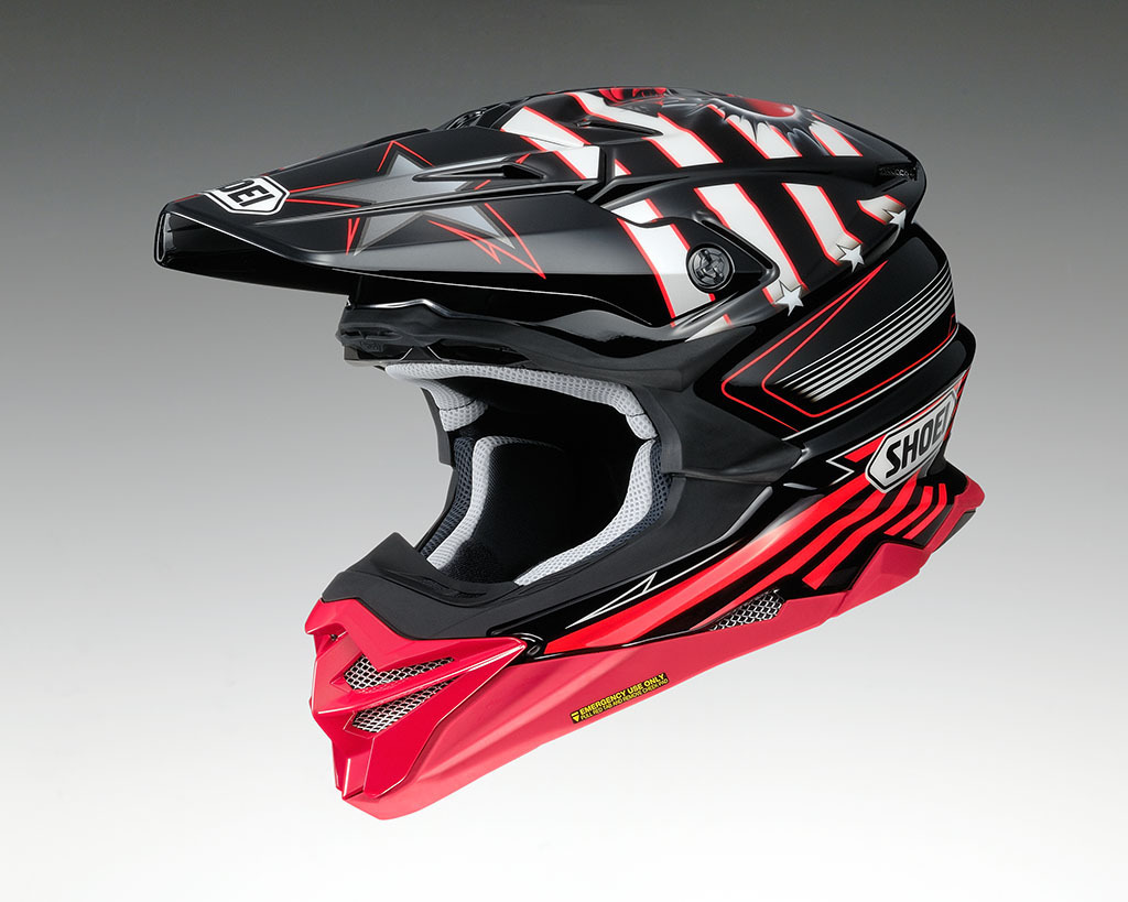 SHOEI Helm VFX-WR GRANT 3 TC-1