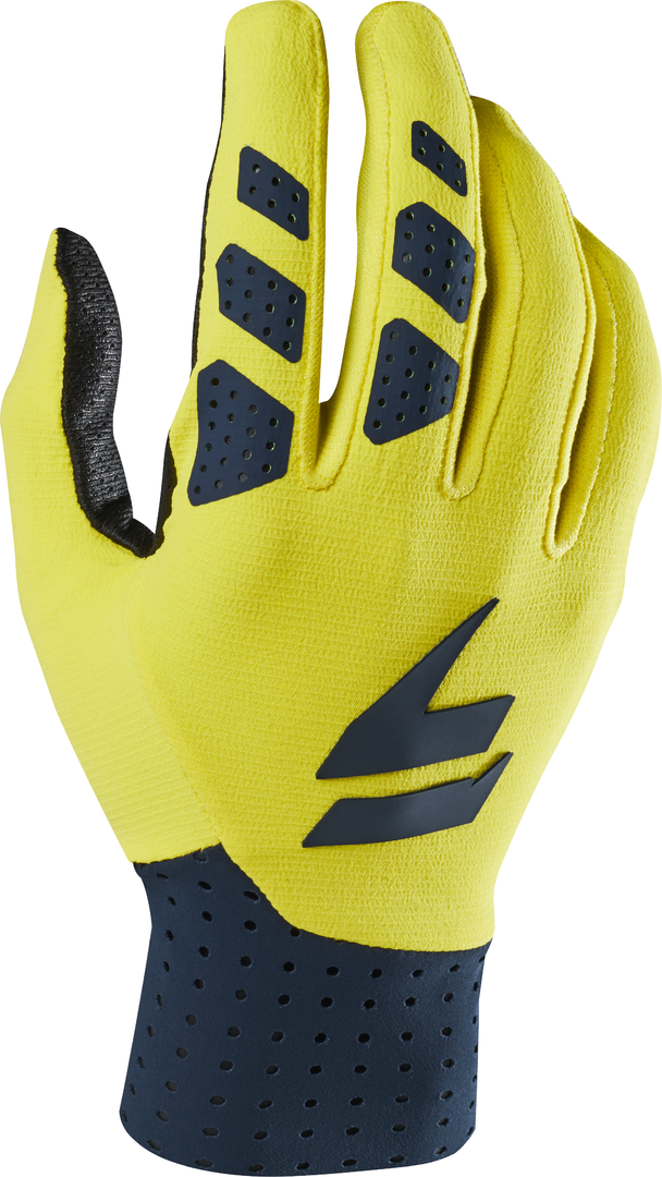 SHIFT MX-Handschuhe 3LUE RISEN Navy-Yellow LE