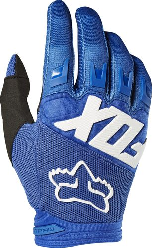 FOX Kids MX-Handschuhe DIRTPAW RACE 2019 blau