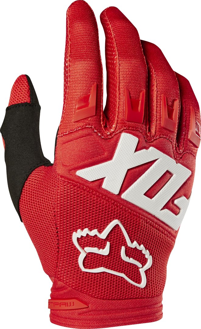 FOX Kids MX-Handschuhe DIRTPAW RACE rot