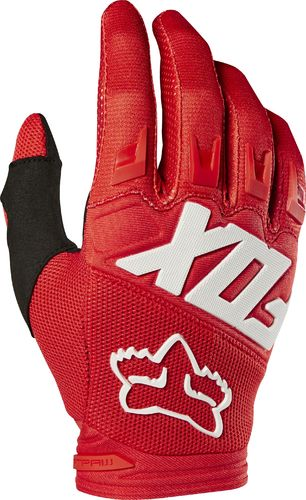 FOX Kids MX-Handschuhe DIRTPAW RACE 2019 rot