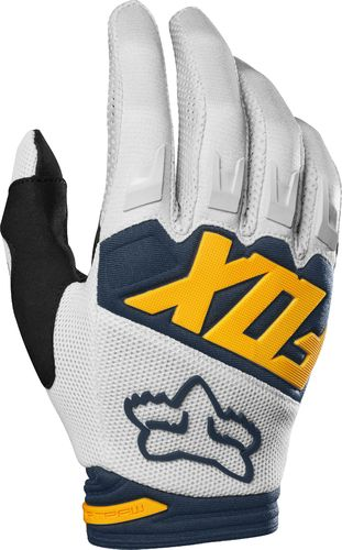 FOX Kids MX-Handschuhe DIRTPAW RACE 2019 lt-grau