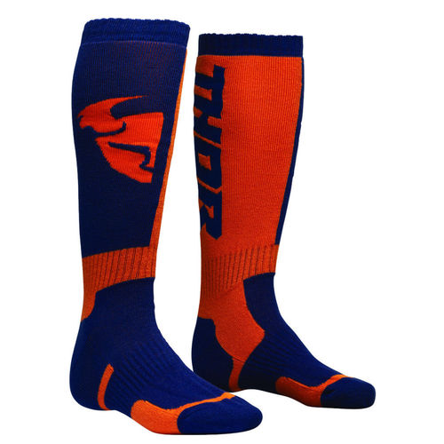 THOR Youth MX-Socken S8Y Navy-Orange