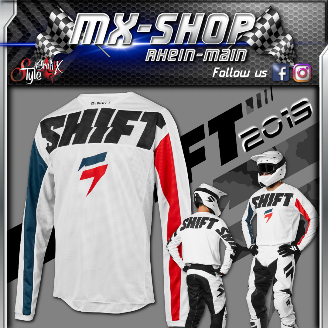 SHIFT MX-Combo WHIT3 York 2019 Weiss