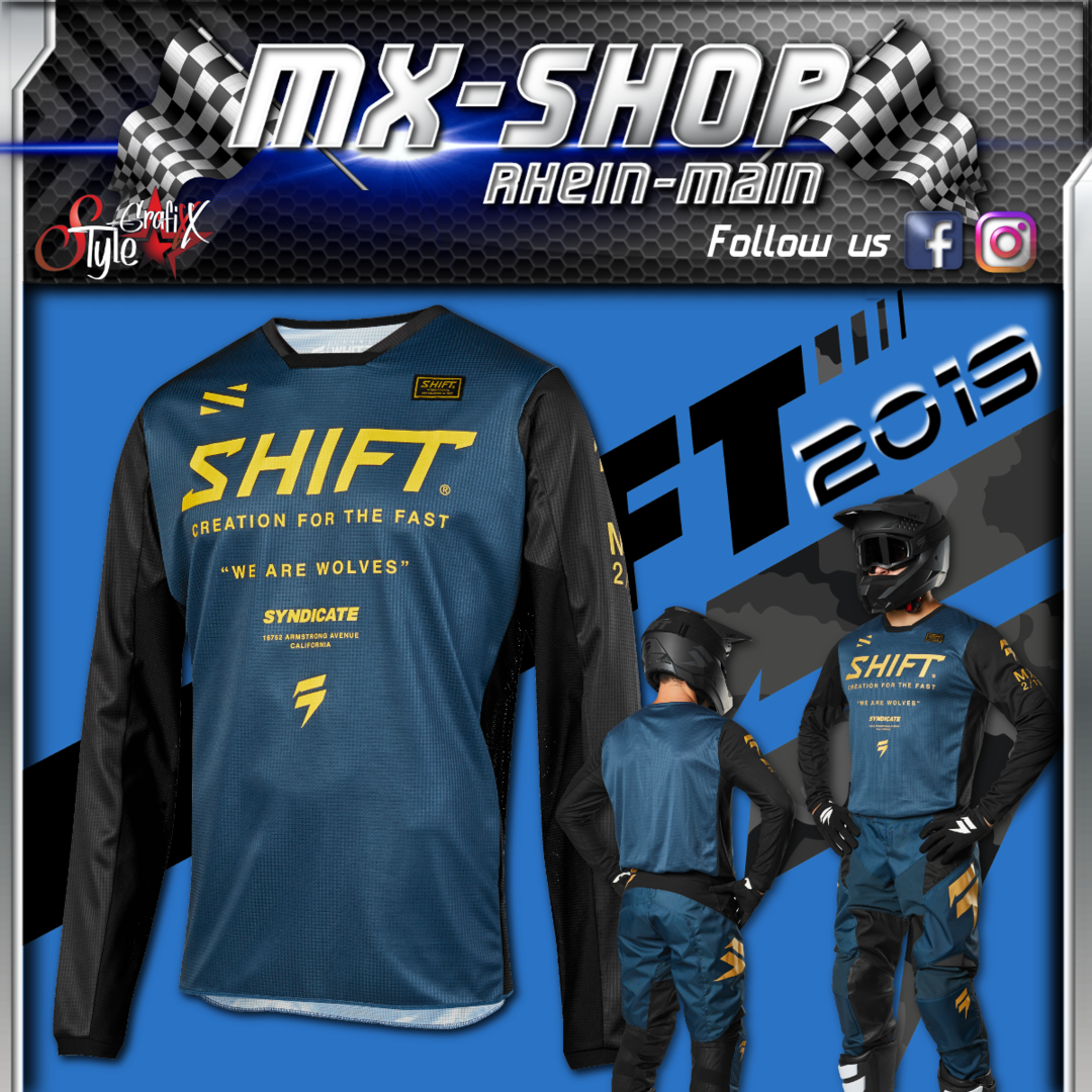 SHIFT MX-Combo WHIT3 Muse 2019 Navy