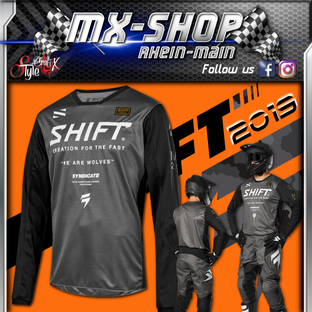 SHIFT Kinder MX-Combo WHIT3 Muse 2019 Smoke