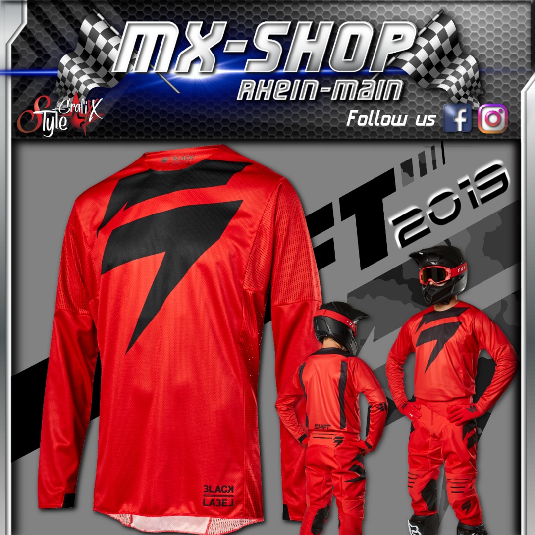 SHIFT MX-Combo BLACK Mainline 2019 rot