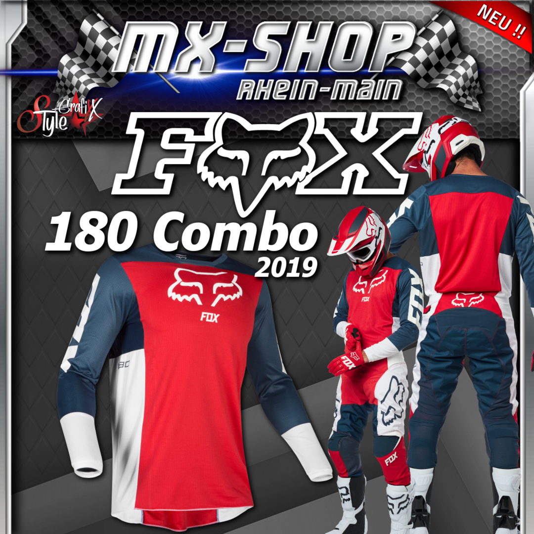 FOX MX-Combo 180 PRZM 2019 Navy-Rot