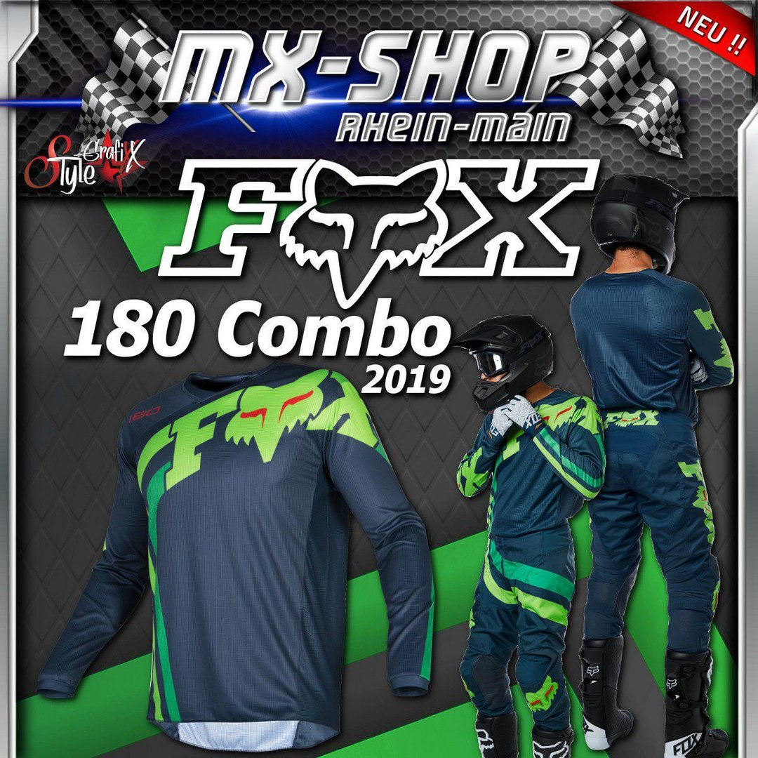 FOX MX-Combo 180 COTA 2019 Navy