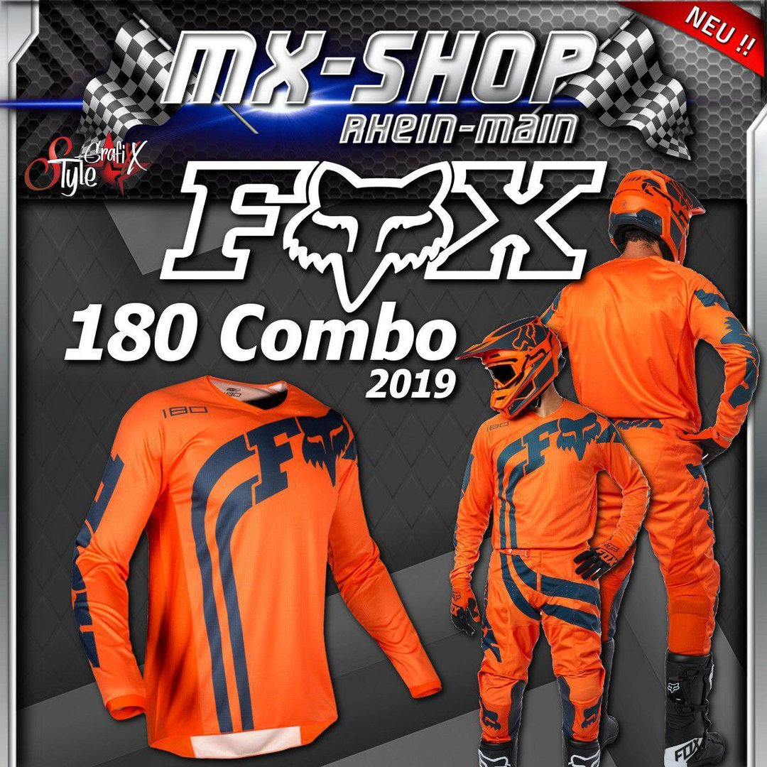 FOX MX-Combo 180 COTA 2019 Orange