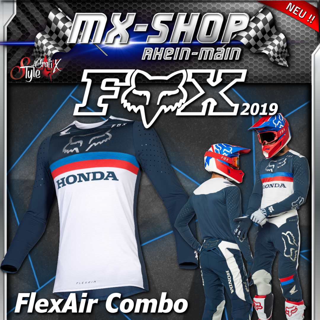 FOX MX-Combo Flexair HONDA 2019