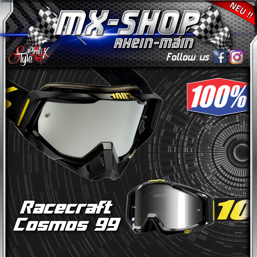 100% Brille RACECRAFT Cosmos 99