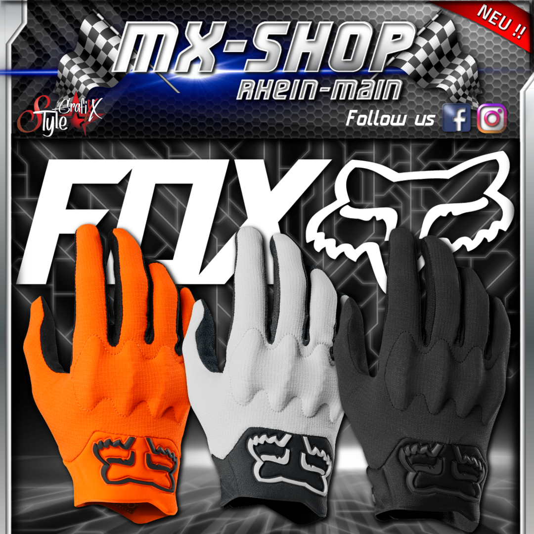 FOX MX-Handschuhe BOMBER LIGHT 2019