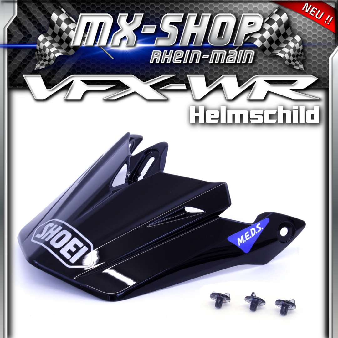 Shoei VFX-WR Helmschild