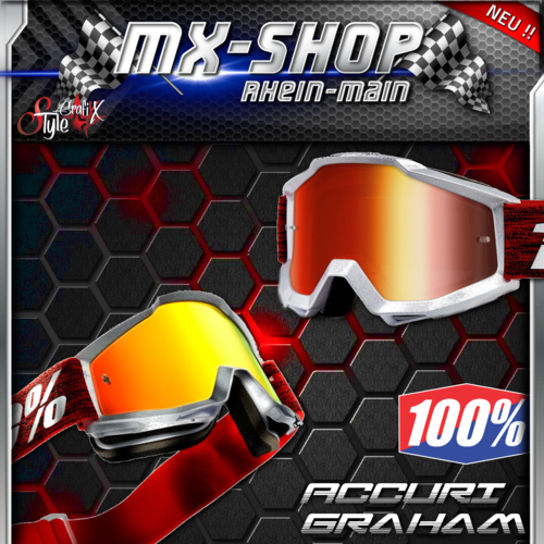 100% Brille ACCURI Graham