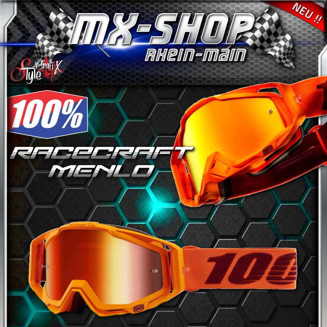 100% Brille RACECRAFT Menlo