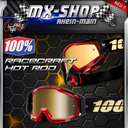 100% Brille RACECRAFT Hot Rod