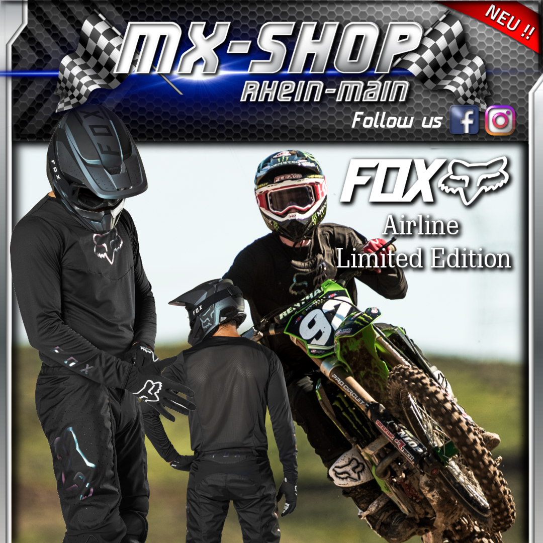 FOX MX-Combo AIRLINE LE schwarz