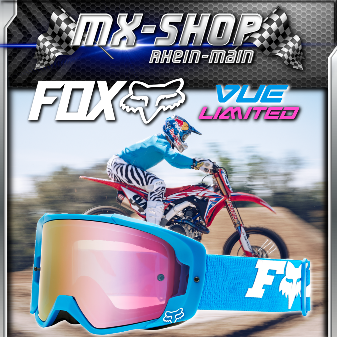FOX MX-Brille VUE ZEBRA LE