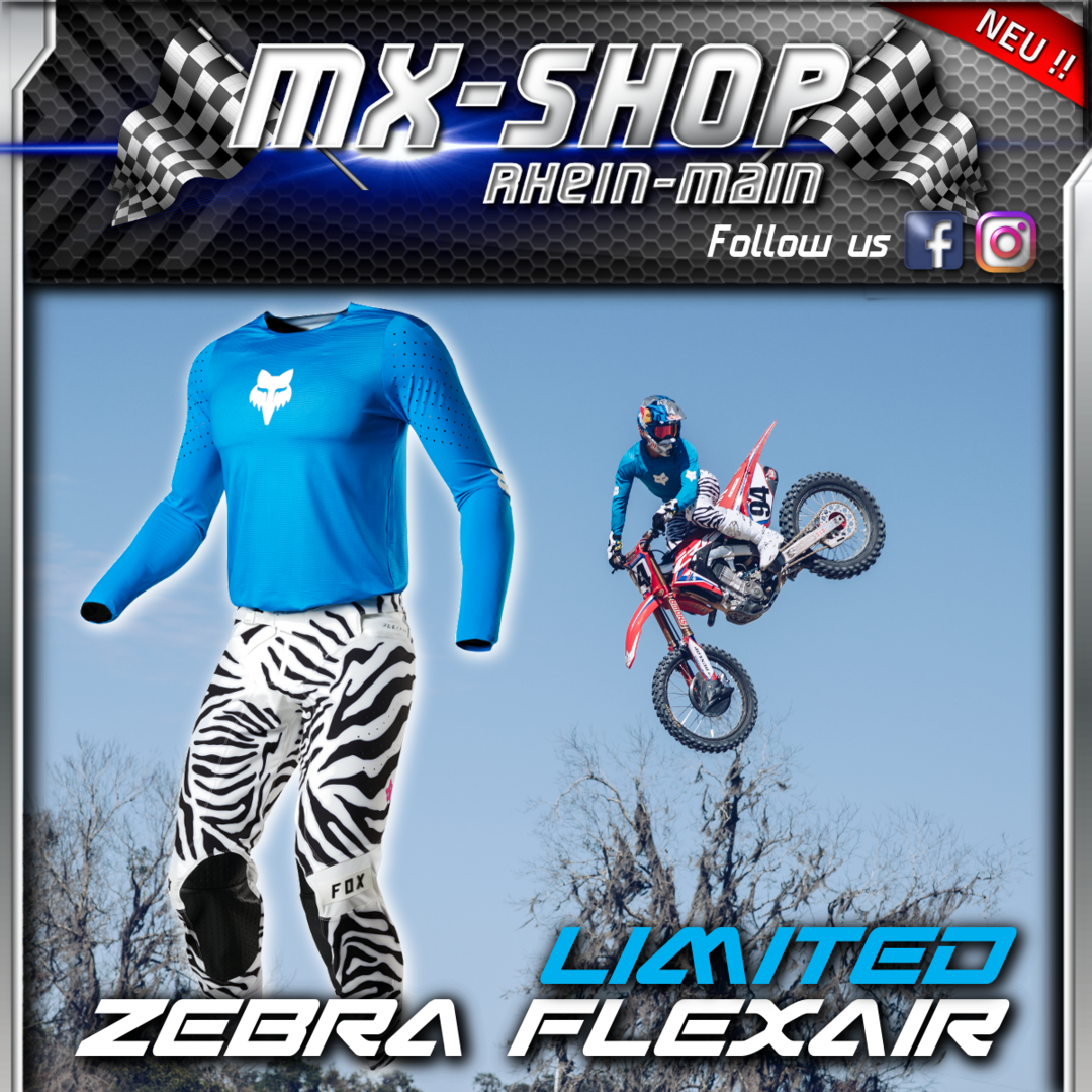 FOX MX-Combo Flexair ZEBRA LE 2019