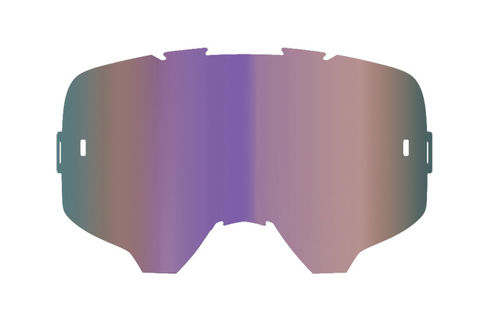LEATT Brillenglas Iriz purple verspiegelt 30%