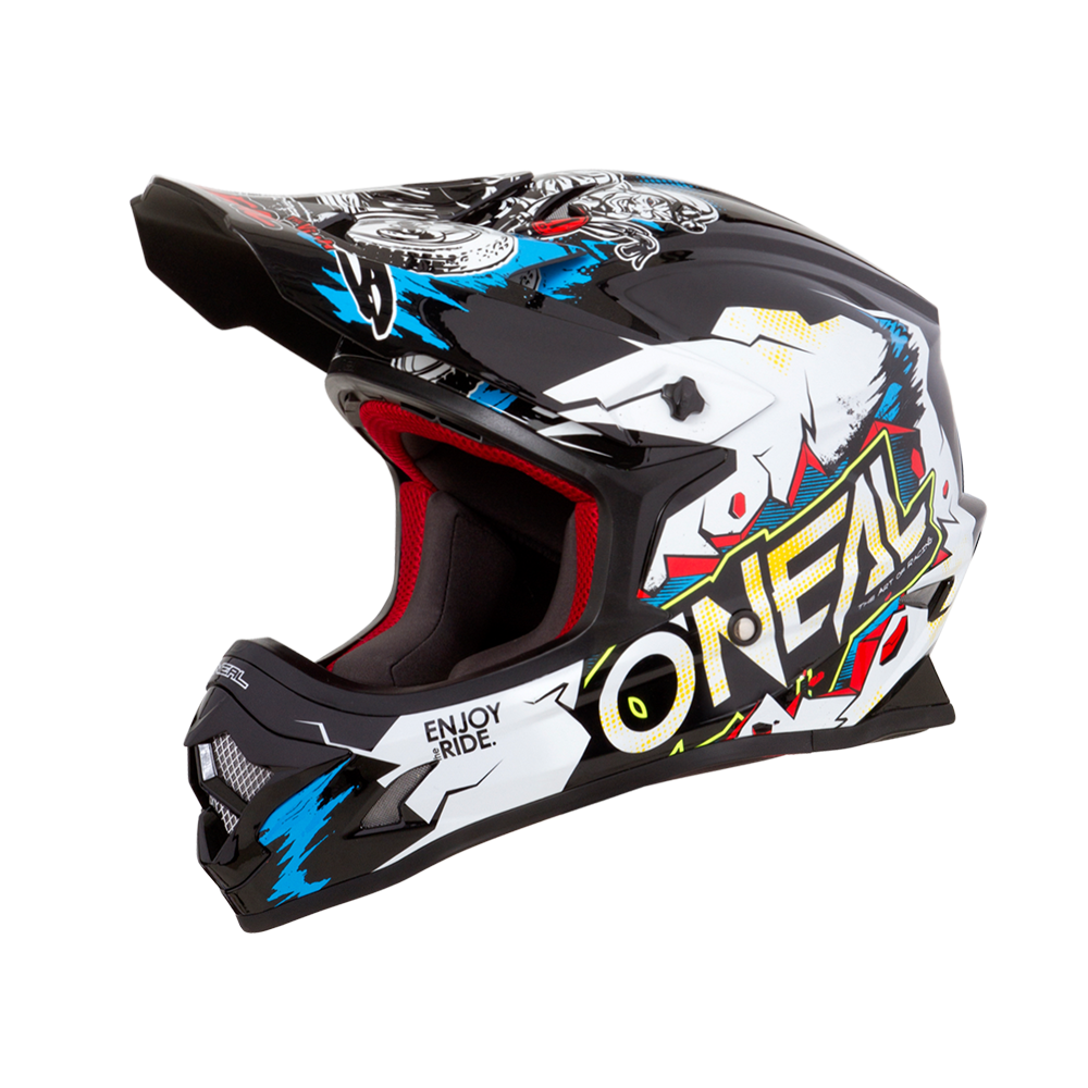 O´Neal 3er Kids Helm VILLAIN white